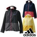 adidas (アディダス) レディース SC +カラーブロックタッサージャケット ランニングウェア/フィットネスウェア jaz06