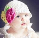 キュートなベビー 幼児 子供 ニット帽子 ニットキャップ 1...