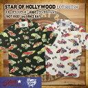 """スターオブハリウッド STAR OF HOLLYWOOD 半袖オープンカラーシャツ 半袖シャツ [SH37590] """"HOT ROD"""" by VINCE RAY メンズ"""