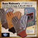 バズリクソンズ Buzz Rickson's レザーグローブ [BR01221] 手袋 Type A-10 GROVE 東洋エンタープライズ メンズ A-10レザーグローブ 革手袋 ミリタリーレザーグローブ メンズ革手袋
