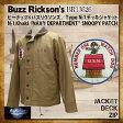 バズリクソンズ タイプN-1 タイプG-1スヌーピーパッチバージョン Buzz Rickson's デッキジャケット [BR13626] バズリクソンズ Buzz Rickson's バズリクソンズ [送料無料] スヌーピー Buzz Rickson's N-1