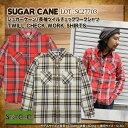 【ポイント10倍!】 シュガーケーン SUGAR CANE 長袖ワークシャツ SC27703 ツイルチェックワークシャツ ロングスリーブシャツ シュガーケーン ワークシャツ TWILL CHECK WORK SHIRT メンズ