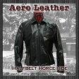 エアロレザー AERO LEATHER レザージャケット 革ジャン 革 メンズ Half Belt Heavy Front Quarter Horsehide [送料無料] [HALF BELT HORSEHIDE]