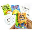 英語教材 マザーグース・コレクション84 (絵本3冊とCD1枚のセット) 幼児 子供 幼児英語 英語 胎教 童謡 CD