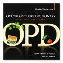 英語教材 Oxford Picture Dictionary の音声CD CD4枚組  オックスフォード ピクチャーディクショナリー 英語 CD ネイティブ音声 旅行英語 リスニング 教材 家庭学習 自宅学習 家庭 自宅 学習