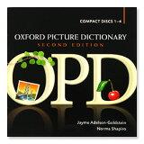 英語教材 Oxford Picture Dictionary の音声CD CD4枚組 (CD単品 テキストはありません オックスフォード ピクチャーディクショナリー 英語 CD ネ
