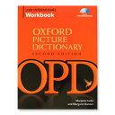 Oxford Picture Dictionary Low Intermediate Work Book CD付 ピクチャーディクショナリー 問題集 英語教材 ワークブック