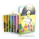 Disney Winnie the Pooh 6 Board Books & CD プーさんのえいごボード絵本6冊セット(CD付) 幼児 子供 英語 英語教材 ディズニー プーさん 絵本