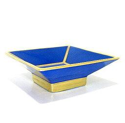 リチャードジノリ・アマデウスの唄 ブルー 8cm角盃