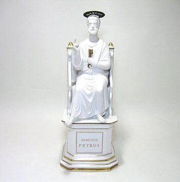 リチャードジノリ・ジュビレオコレクション 聖ペテロ像 H31cm