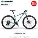 【2021年モデル】BIANCHI(ビアンキ) NITRON 9.4 カラー:6U - CK16/ BLACK-RED GLOSSY【プロの整備士による整備組付済】マウンテンバイク【今出川店別館】