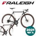 【2021年モデル】RALEIGH(ラレー) CR-DC Carlton-DC (カールトンDC)【プロの整備士による整備組付済】【丸太町店(スポーツ専門)】ロードバイク