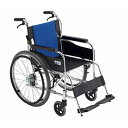 (代引き不可)ミキ アルミ製自走式車いすBAL-1 ノーパンクタイヤ 【時間帯指定不可】(自走用車椅子 車イス 介護用品)介護用品