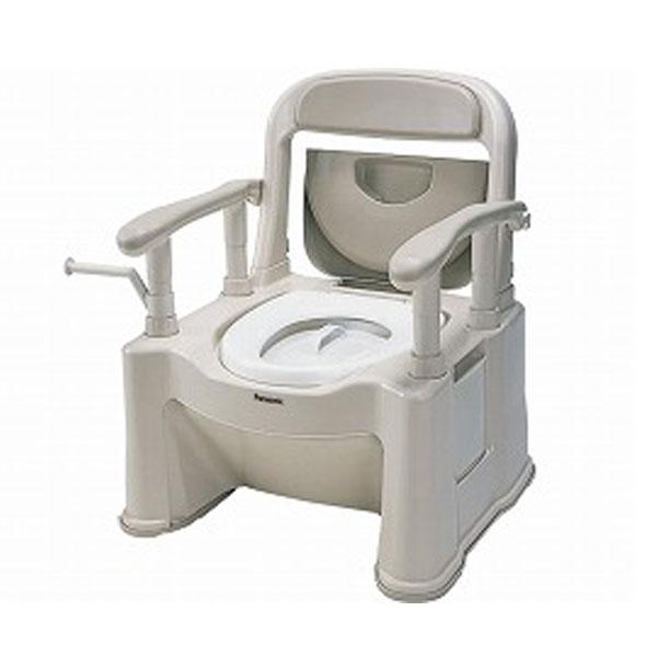 パナソニック ポータブルトイレ 座楽背もたれ型SP 標準便座タイプ / VALSPTSPBE 介護用品