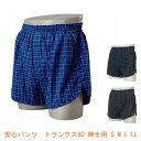 安心パンツトランクス80紳士用(男性用失禁パンツ 紳士用尿漏れパンツ 吸水量80cc) 介護用品