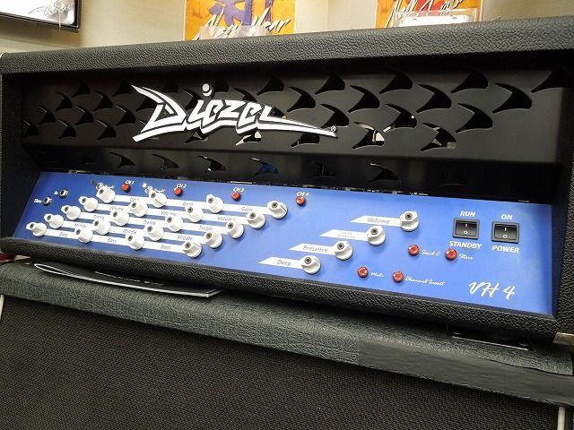 【アウトレット】Diezel VH-4 【店頭展示品限りのチョイキズ特価品】【アンプ】【ヘッド】【ギター用】