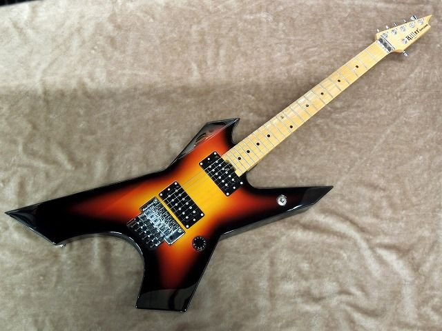 Killer キラー KG-EXPLODER【3 Tone Sunburst】【エレキギター】【変形】【メタル】【プライム・エクスプローダー】【プレーントップ】【フロイドローズ】【送料無料】