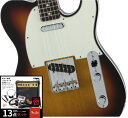 Fender フェンダー MADE IN JAPAN TRADITIONAL 60s Telecaster Custom 【豪華13点セット!!】Rosewood Fingerboard, 3-Color Sunburst ..