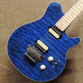 Sterling by MUSIC MANS.U.B. AX4 〜Translucent Blue〜 【チョイ傷特価!】【アウトレット】【スターリン】【ミュージックマン】【アクシス】【お取り寄せ商品】【送料無料】