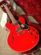 Gibson Historic Collection 1959 ES-335 Dot Plain Reissue (# A96100) Faded Cherry 【ギブソン】【セミアコ】【カスタムショップ】【ナッシュビル】【送料無料】