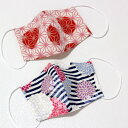 日本製 手作り こども立体マスク 女の子用 洗える布マスク