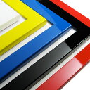 【257×364mm:B4サイズ】額縁/光沢フラットフレーム☆5色17サイズのポップなポスターフレームです♪