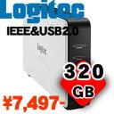 [IEEE1394&USB 2.0][外付型][320GB]【送料無料】IEEE1394&USB 2.0外付型HD 320GB:LHD-ED32 ...