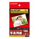 L判/100枚入キヤノンプリンタ対応 写真用紙(特厚タイプ):EJK-CPL100N[エレコム]