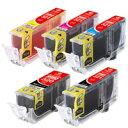 【送料無料】キヤノンBCI-321対応汎用インクカートリッジ:NIC-320+321-5P【ELECOM(エレコム):エレコムダイレクトショップ】[カラークリエーション(Color Creation)]