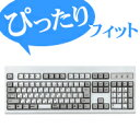 キーボードをホコリや汚れから保護するキーボードカバー[NEC]