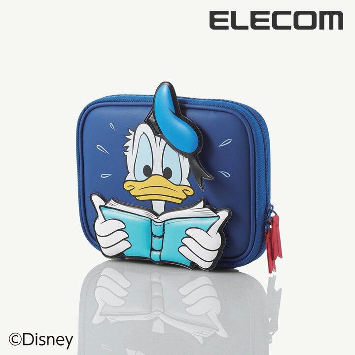 【送料無料】電子辞書ケース ディズニーキャラクター Disney ドナルドダック:DJC-…...:elecom:10035115
