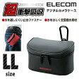 ZEROSHOCKデジタルカメラケース[LLサイズ]:ZSB-DG013BK[ELECOM(エレコム)]【税込2160円以上で送料無料】