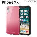 エレコム iPhone XR ケース 耐衝撃 衝撃吸収 TOUGH SLIM2 ピンク PM-A18CTS2PN