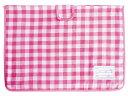 [ポスト投函送料無料] デビカ チェックの防災ずきんカバー CK用袋 ピンク