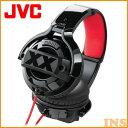 【D】Victor・JVC アラウンドイヤーヘッドホン HA-XM20X[オーバーヘッド・密閉型・ダイナミック型]【送料無料】 【10P01Oct16】