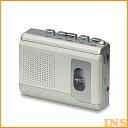 [エントリーで全品P10倍]ポータブルカセットレコーダー CTR-300録音 音声 再生 携帯 ELPA 【D】