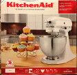 送料無料 ●新品 KitchenAid キッチンエイド 白 スタンドミキサー  KitchenAid Classic White 4.5-Qt  4.5クォート K45SSWH ●(2週間前後でお届け)  ヘッドアップ式