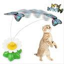送料無料 新品●ケースに痛み有 猫のおもちゃ 蝶●蝶々 ペット用品 愛猫 ねこのおもちゃ バタフライ