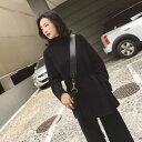 ショッピングオートミール 「最大5%OFFクーポン配布中」 レディース 韓国ファッション ニット 上下セット サッシュベルト + ニットパンツ 長袖 キュート 可愛い きれいめ 上品 おしゃれ オフィス ライトブラウン ブラック オートミール ブラウン S M L XL サイズ