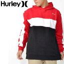 ショッピングhurley 35%off 送料無料 プルオーバーパーカー HURLEY ハーレー メンズ BLOCKED PO FLEECE PULLOVER HOODIE ロゴ フーディー パーカー プルオーバー スケートボード スノーボード