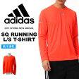 長袖 Tシャツ アディダス adidas SQ ランニング 長袖 Tシャツ メンズ トレーニング ランニング ジョギング マラソン ウェア 2015春新作