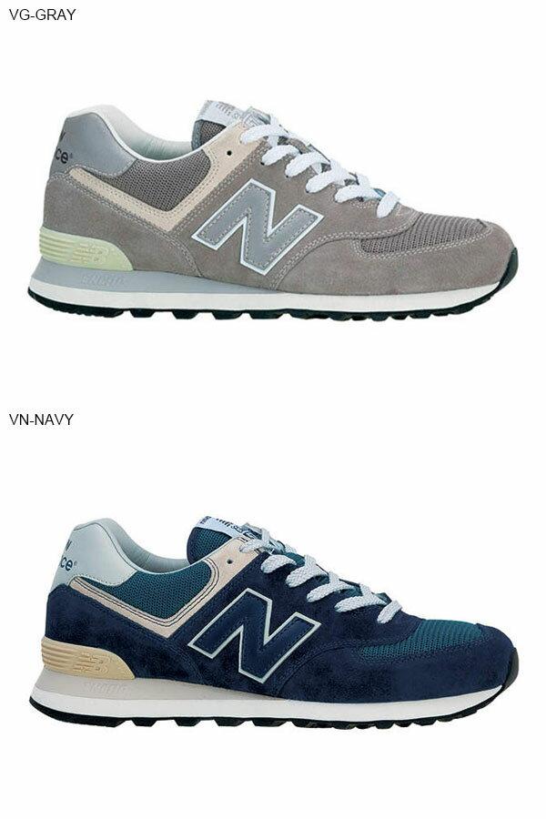スニーカーニューバランスnewbalanceML574メンズカジュアルシューズ靴2016秋冬新色ネイビーグレーレッドグリーン