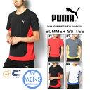 半袖 Tシャツ プーマ PUMA メンズ SS TEE ランニングシャツ スポーツウェア スポーツシャツ トレーニングウェア 紫外線カット UVカット ランニング ジョギング マラソン 2014夏新作
