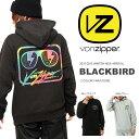 長袖パーカー VONZIPPER ボンジッパー メンズ BLACKBIRD ロゴ プルオーバー パーカ トレーナー パーカー スノーボード スノボ スキー カジュアル ストリート アウトドア 日本正規品 25%off