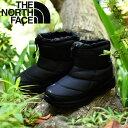 送料無料 ザ・ノースフェイス THE NORTH FACE Nuptse Bootie WP IV Short ヌプシ ブーティー ウォータープルーフ IV ショート ブーツ メンズ レディース ブー