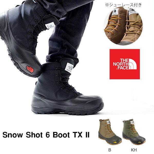 送料無料 ザ・ノースフェイス THE NORTH FACE メンズ レディース Snow Shot 6 Boot TX II スノーショット6 ブーツ テキスタイル2 ショートブーツ ウインターブーツ スノーブーツ スノトレ 撥水 シューズ 靴 NF51564 ザ ノースフェイス 2016秋冬新色 ザ ノースフェイス ブーツ メンズ レディース スノー アウトドア カジュアル 防寒 BOOTS 紳士 婦人 SNOW スノトレ
