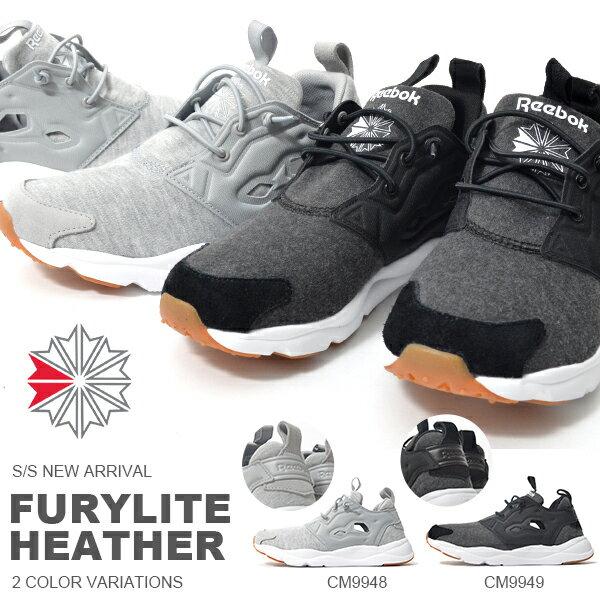 送料無料 スリッポン スニーカー リーボック クラシック Reebok CLASSIC メンズ レディース フューリーライト ヘザー スリップオン シューズ 靴 FURYLITE HEATHER 2018春夏新作 得割20