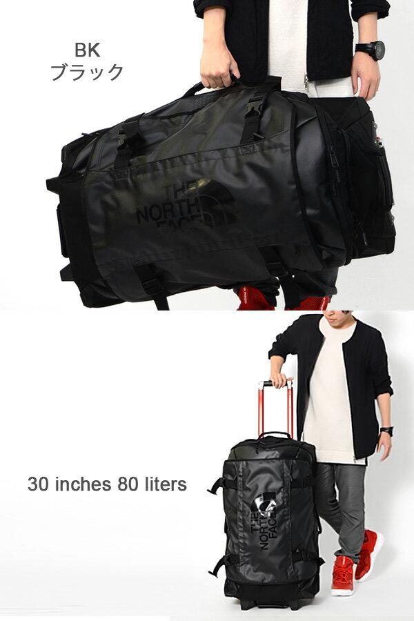 送料無料キャリーバッグザ・ノースフェイスTHENORTHFACEROLLINGTHUNDER30インチ80リットルローリングサンダースーツケース旅行NM81466コロコロBAG10%off