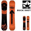 送料無料 スノー ボード 板 ROME SDS ローム BUCK SHOT メンズ スノーボード スノボ 紳士用 キャンバー ジブ パーク 151 40%off