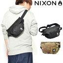 送料無料 限定 ウエストバッグ NIXON ニクソン TRESTLES HIP PACK BAG 3L ボディバッグ ウエスト ポーチ スリ...